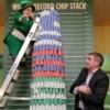 A Dublino nuovo record per la più grande pila di chips