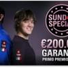 PokerStars: il Sunday Special torna a 200.000 € GTD!