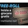 Glaming Poker: in palio 50.000 euro di premio con i freeroll!