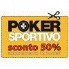 Abbonati SUBITO a Poker Sportivo e risparmia il 50%!
