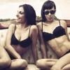 Carla Solinas e Claudia Cerantola in posa per La Puntata Hot!