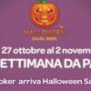 Halloween Sales Week su Sisal Poker: sconti nei principali tornei fino al 70% del buy-in!