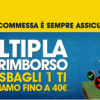 L'ultima partita ti tradisce? William Hill ti rimborsa fino a 40€!