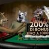 Paddy Power ti offre un bonus benvenuto del 200% fino a 1.000€ e 10€ IN REGALO!!!