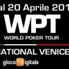 Il programma completo del WPT National Venezia di metà aprile: è già caccia al titolo!