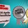 Spring Leaderboard: classifica MTT di Poker Club