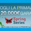 Su Titanbet Poker arrivano le Spring Series: in palio un montepremi garantito di 120.000€!