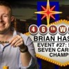WSOP – Pescatori chiude 8° al Seven Card Stud e Hastings conquista il braccialetto. Fenomenale Savinelli al Monster Stack!