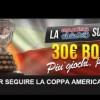Su NetBet Sport arriva la Coppa America: partecipa e ottieni un bonus fino a 30€ sulle scommesse perdenti