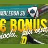 Scommetti su Wimbledon e vinci fino a 50€ su NetBet Sport