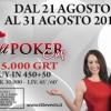 Dal 21 al 31 agosto torna la Tilt Poker Cup da 75.000€ garantiti a Ca' Noghera!