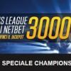 NetBet sport lancia lo Speciale Jackpot Champions: 3000€ garantiti nella fase a gironi!