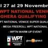 Bei tornei e satelliti per il WPTN Venezia: a Ca' Noghera è in arrivo un week-end di grande poker!