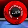 Su PokerStars un bonus sul primo deposito del 100% fino ad un massimo di 1.000€!