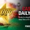 Casinò Daily Star: ogni giorno 6.500€ in palio e 1.000€ garantiti al vincitore!