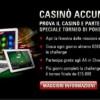Casinò Accumulator su PokerStars: in palio 29.000€ in Freeroll di Texas Hold'Em!