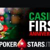 Prima candelina per il Casinò di PokerStars: vinci fino a 50.000€!