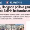 """""""L'all-in di Hodgson ha funzionato"""" Per Euro2016 il linguaggio del poker torna sulla Gazza"""