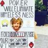 """""""Il poker eliminerà i problemi dei senzatetto"""" fuori dall'EPT una nuova iniziativa di beneficenza di Andrew Funk"""