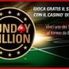 Gioca gratis il Sunday Million: 100 ticket in palio al Casinò di PokerStars.it!