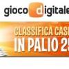 Su Gioco Digitale 2.500€ in palio con la Classifica Casinò Live!
