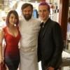 Elky si gode una vacanza in Italia e fa visita a Milano allo chef Carlo Cracco