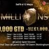 Il sogno del PartyPoker Millions prende forma a Saint Vincent: dall'8 al 12 marzo si gioca la fase italiana!