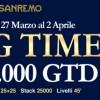 Scatta il Big Time a Sanremo: 10.000 euro garantiti in attesa del PartyPoker Millions