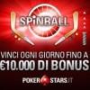 """""""Spinball"""" di PokerStars: completa il puzzle per vincere fino a 10.000€ di bonus ogni giorno!"""