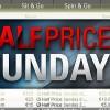 'Half Price Sunday' su PokerStars: domenica prossima sei tornei con buy-in scontato del 50% e garantiti invariati!