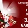Freeroll di Natale su Gioco Digitale: fino all'8 gennaio 3.500€ in palio!