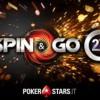 Spin & Go 2x su PokerStars: completa la missione per vincere fino a 1.000€ in bonus istantanei!