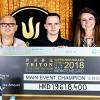 Tedeschi e O'Dwyer al palo: il Main Event Triton Series va a Mikita Badziakouski (2.123.000€)