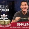 WSOP – Poker di braccialetti al Rio! Fanno festa Peacock, Baldwin, Lee e Bohlman