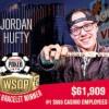 WSOP – Jordan Hufty vince un braccialetto da sogno! Hellmuth e Moorman sono ITM nello Shootout