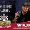 WSOP – JR Bellande trionfa con stile nel 6-Handed, Jeremy Perrin vince per sbaglio il Giant!