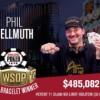 WSOP – Phil Hellmuth batte Wolansky in rimonta nel NL Hold'em e vince il 15° braccialetto!