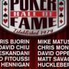 Poker Hall of Fame – Hennigan e Oppenheim tra i dieci nomi del 2018, ma manca Pescatori!