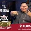 WSOP – Braccialetti a Tim Andrew e Dan Matsuzuki! Galen Hall vuole il Crazy Eights