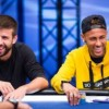 André Akkari batte l'amico Neymar JR. nel sit di beneficenza all'EPT di Barcellona