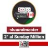 Si qualifica con un satellite da 7.50$, arriva secondo al Sunday Million: che impresa per 'shaundmaster'!