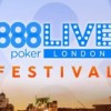 Qualificati su 888poker.it al London Festival: il Main Event mette in palio 500.000£
