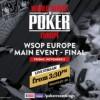 Segui il Tavolo Finale del Main Event WSOP Europe in diretta streaming!