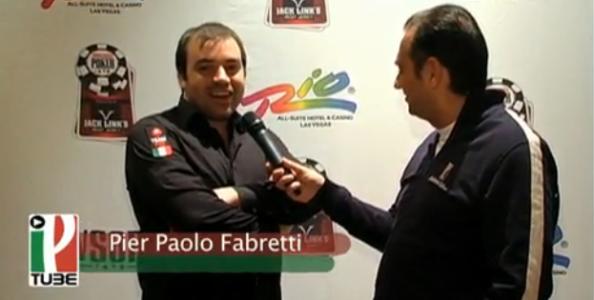 WSOP 2010, Pierpaolo Fabretti si mette in forma per il main