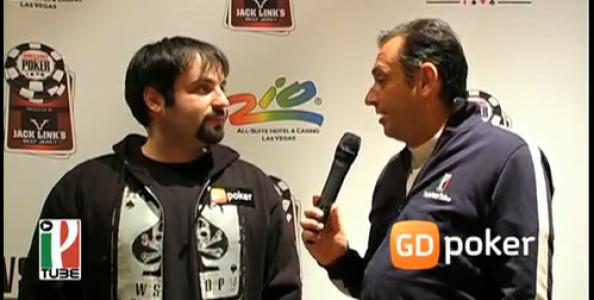 WSOP 2010 – Video intervista a Crisbus Cristiano Guerra