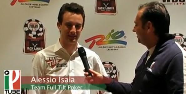 WSOP 2010 – Video intervista ad Alessio Isaia in corsa all'evento omaha