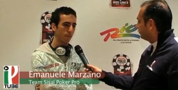 WSOP 2010 Video – poca fortuna per Emanuele Marzano