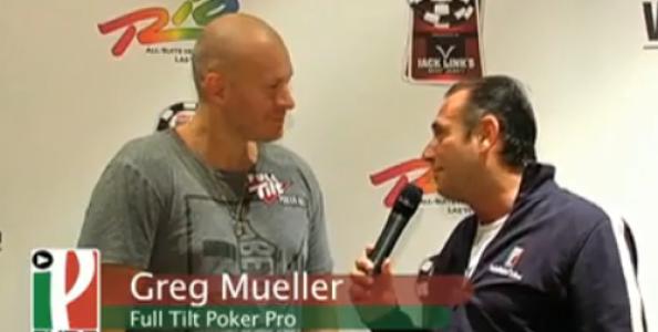 WSOP 2010 – Video intervista Greg Mueller – Pro di FullTilt Poker