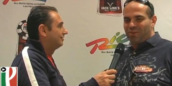 WSOP 2010 Video – Alessandro Pastura tra i chipleader al Main Event