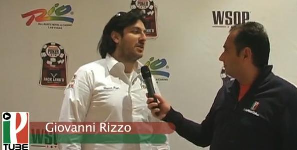 WSOP 2010 Video – Giovanni Rizzo al Main Event con PartyPoker